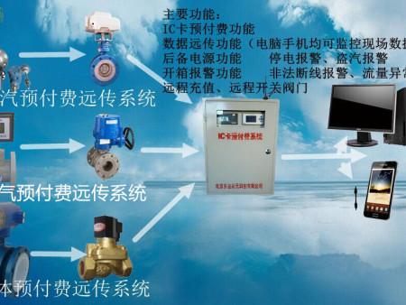 蒸汽预付费远传系统