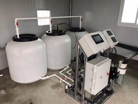 湖南温室无土栽培施肥机安装