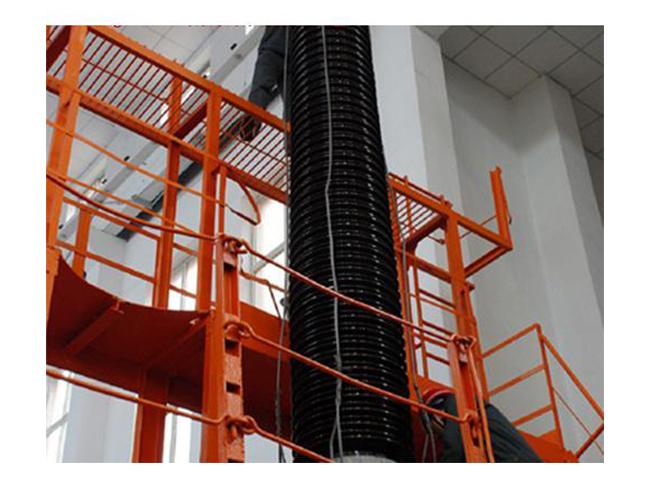 126kV/1500A油纸电容式变压器套管(卡装)