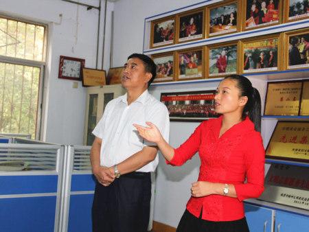 市人大副主任、总工会主席李玉家到协会调研