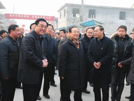 原中共中央政治局常委、国务院温总理到协会视察