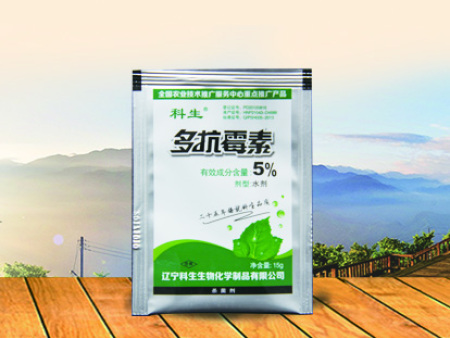5%多抗霉素水剂15g/袋