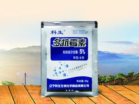 5%多抗霉素水剂25g/袋