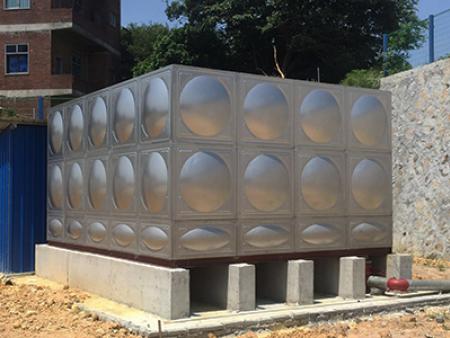 不锈钢方型水箱安装
