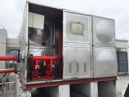 箱泵一体水箱