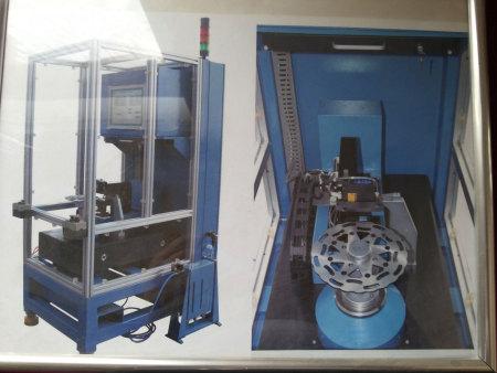 激光制动盘测量机