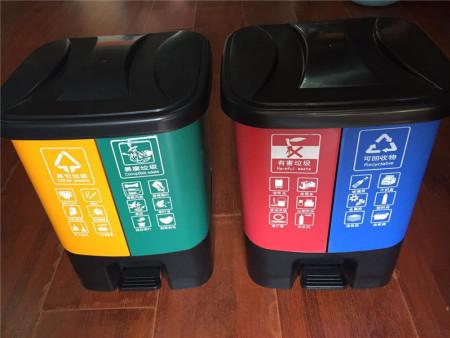 幼儿园分类垃圾桶