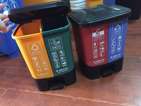 福建标准双色垃圾桶