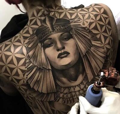 别具一格的建筑纹身,忍不住惊叹