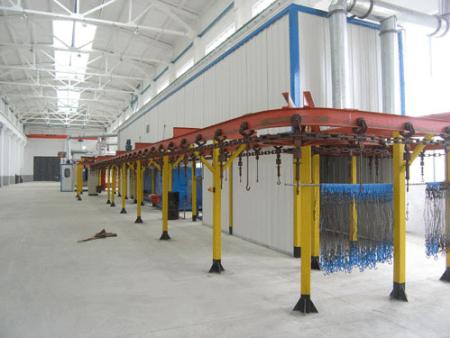 桥式直通烘干固化设备