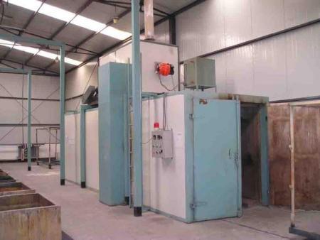 燃油式固化炉