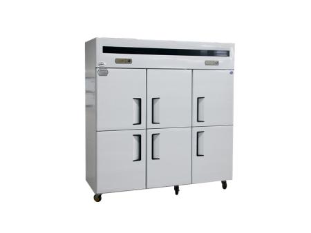 六门冰柜不应安放在温度过低的地方