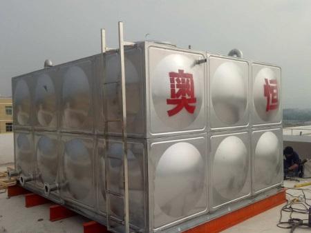 """承接""""漳浦万安中心幼儿园不锈钢消防水箱安装工程"""""""