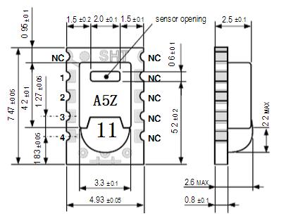 SHT11湿度传感器