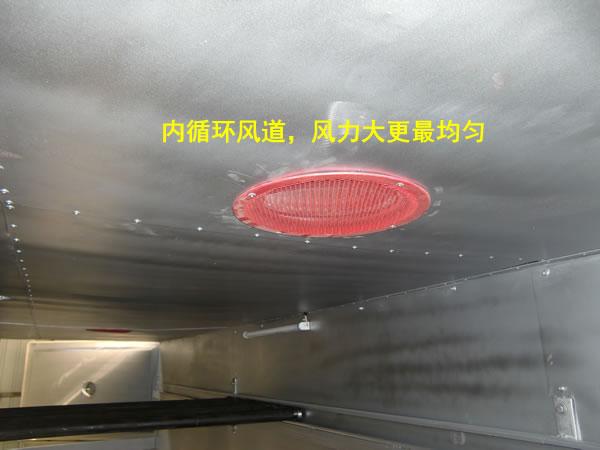 塑料固化室风道内循环