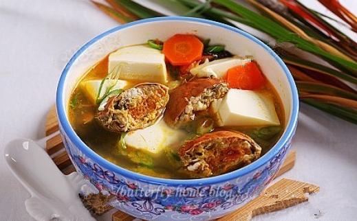 豆腐河蟹汤的做法