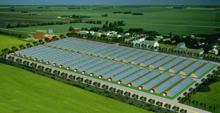 智慧农业智能温室大棚
