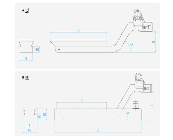 常熟機床刮板式排屑機