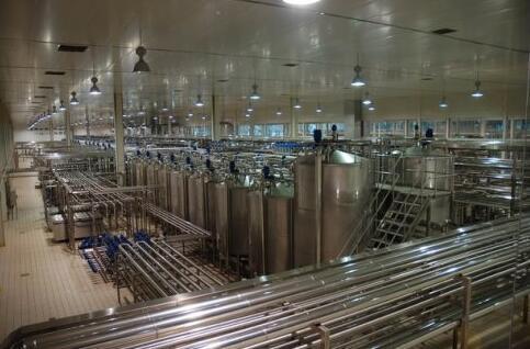 牛奶加工温湿度监控系统