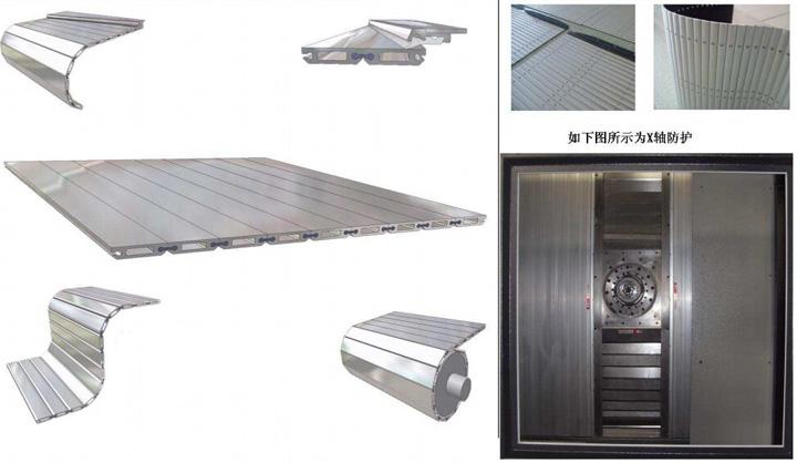 鋁型材防護簾