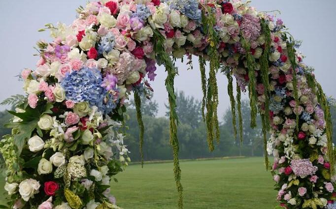 婚庆用花拱门