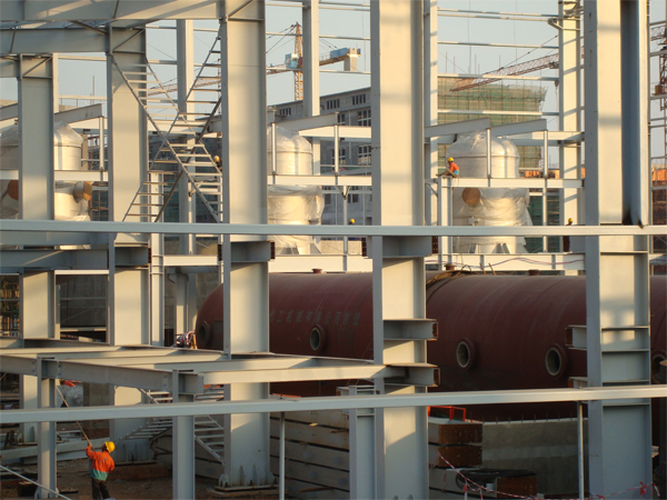 承接大型储罐现场制作安装工程