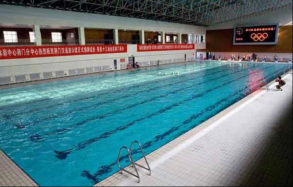 游泳館水處理循環系統
