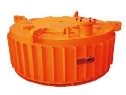 悬挂式矿用隔爆型电磁除铁器