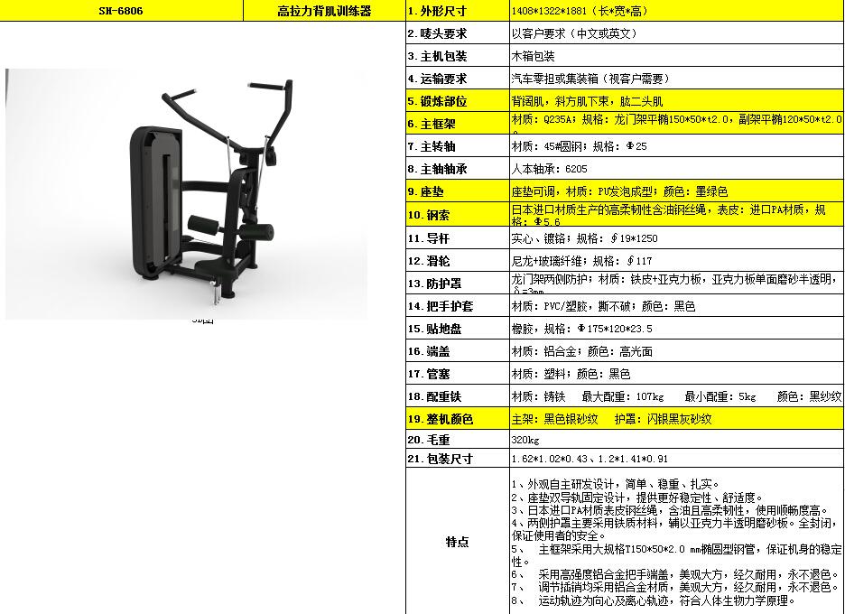 高拉力背肌训练器 SH-6806.jpg