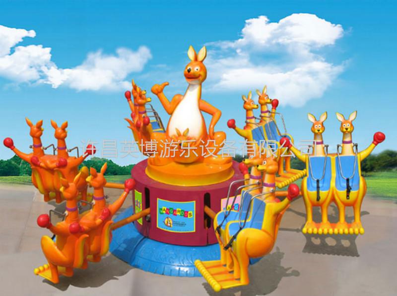 8臂袋鼠跳|欢乐袋鼠跳-许昌英博游乐设备有限公司