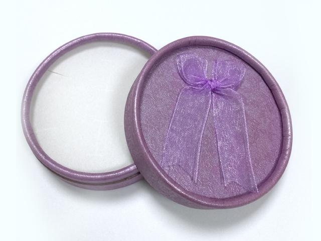 紫色 蝴蝶綢帶首飾盒|戒指盒-四會市富興紙品首飾盒加工場