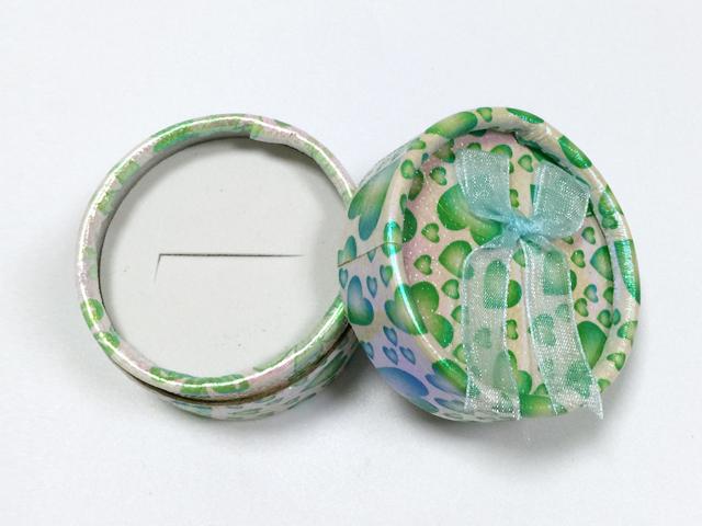 多色 蝴蝶结小圆形戒指盒|戒指盒-四会市富兴纸品首饰盒加工场