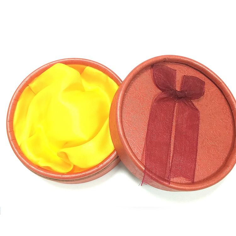 紅色 絨布蝴蝶結飾品盒|珠寶盒-四會市富興紙品首飾盒加工場