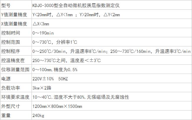 全自動微機膠質層指數測定儀