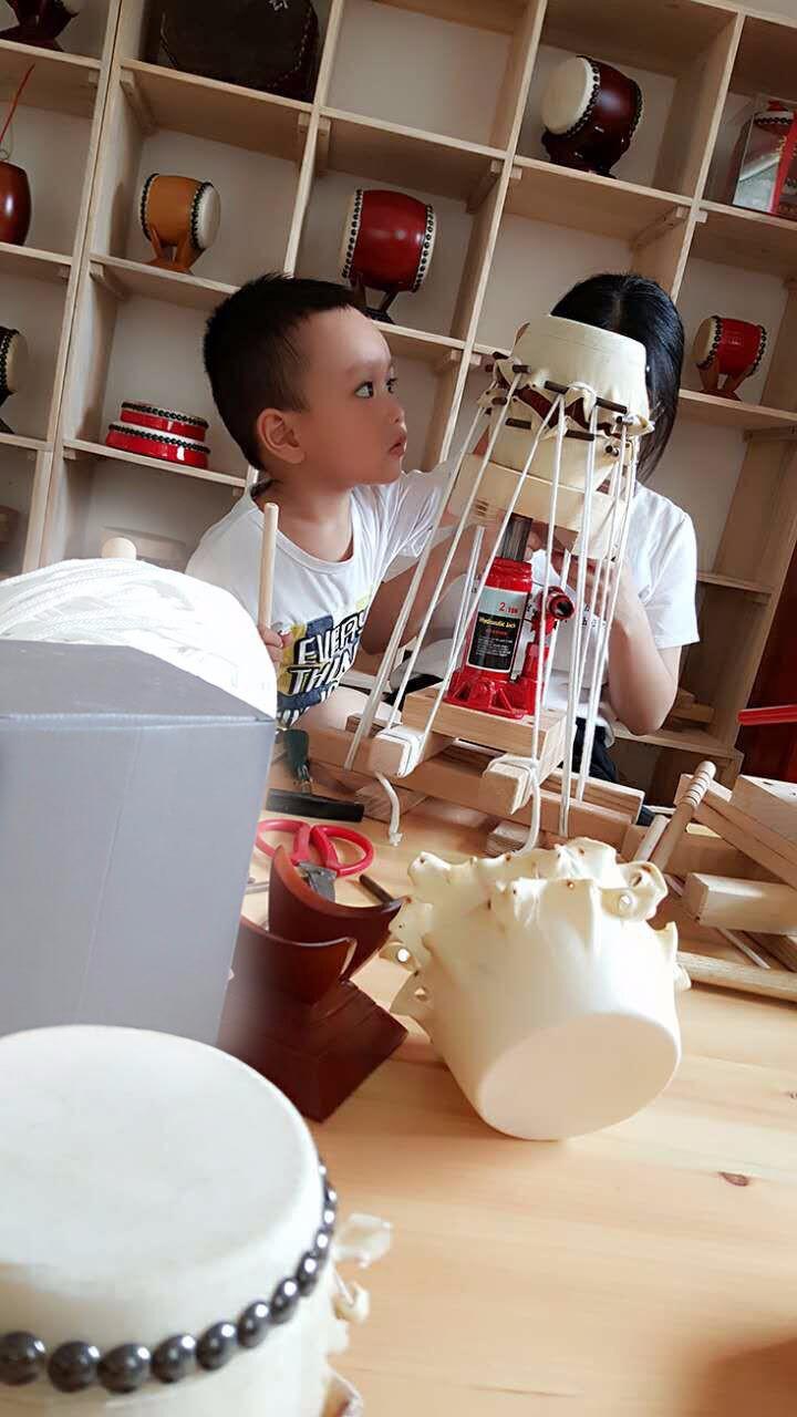 小鼓DIY