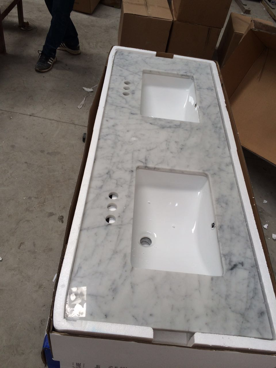 Bianco Carrara White tops shipped to USA (2).jpg