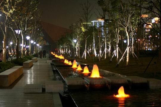 首義廣場噴泉