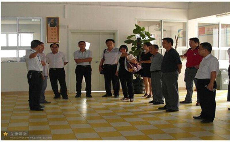 2014年8月12号:广东省罗定市人大副主任吴旭明莅临我校指导工作|社会支持-阳光新希望教育学校