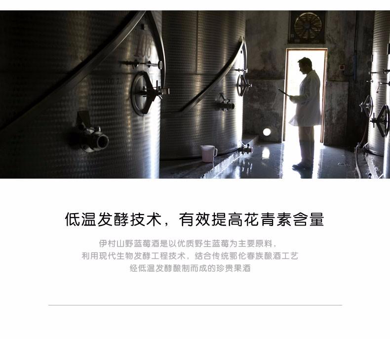 蓝莓冰酒 蓝莓果酒系列-伊春市山野饮品有限公司