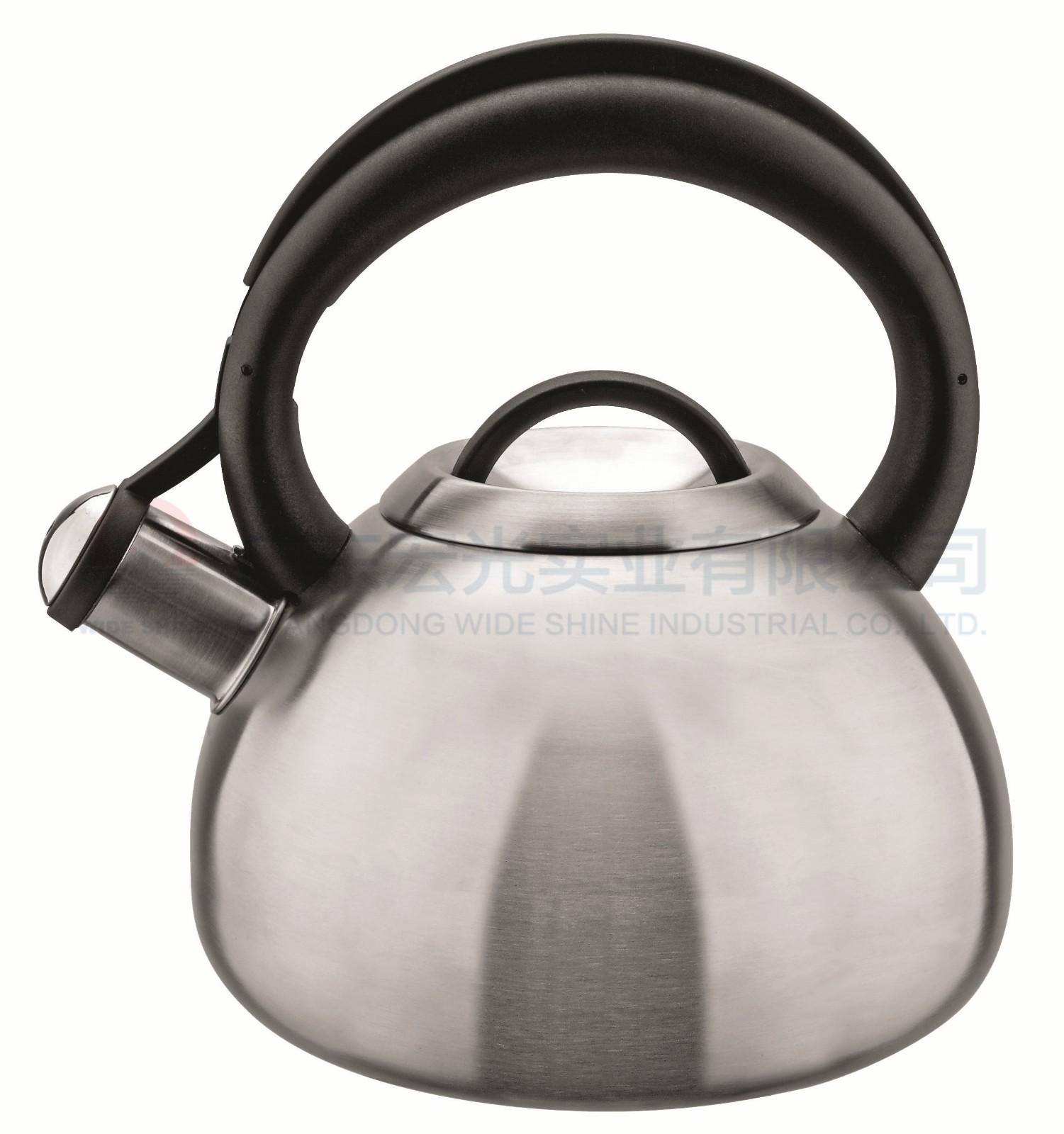 不銹鋼原色鳴笛壺