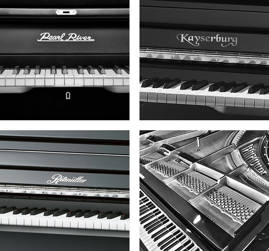 新kayserburg piano恺撒堡kA艺术家钢琴 - 乐博珠江钢琴专卖店 - 东莞乐博珠江钢琴专卖店