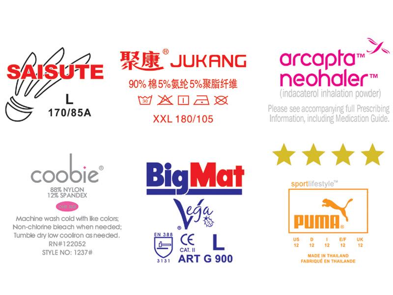 洗水唛烫画|网印专色烫画-晋江市三联烫画制品有限公司