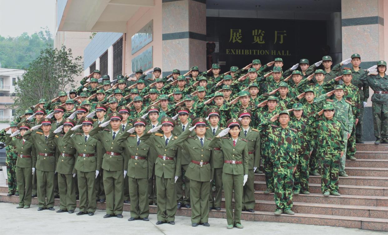 學校管理特色——半軍事化管理
