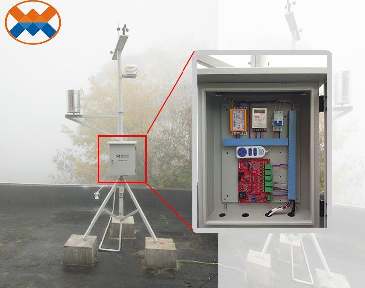 西岭雪山小型气象环境监测站