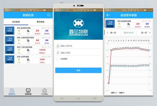手机App数据监测与显示