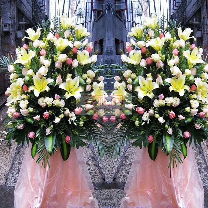 临沂庆典用花,婚礼用花,开业花篮