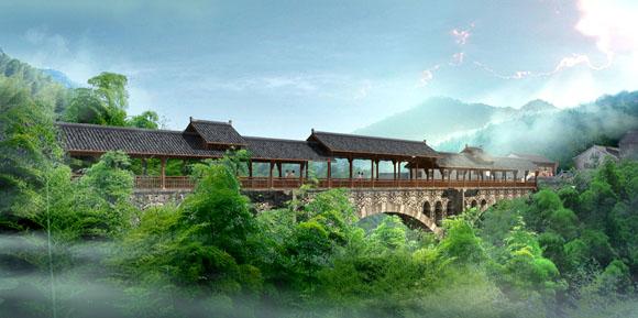 黄金桥|南山竹海风景-假日心情宾馆