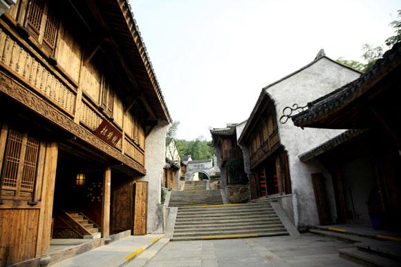 鸡鸣村|南山竹海风景-假日心情宾馆