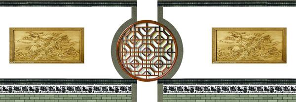通过玉雕,石雕,铜雕,木雕,砖雕等表现手法,展现以南阳五圣文化为代表