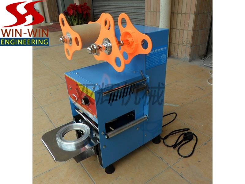 自动奶茶封杯机(彩钢) ET-A9